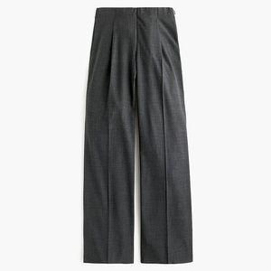 Jcrew wide leg wool  pleated pant NWT 2
